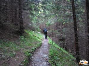 Niebieski szlak na Małołączniak - trawers Skoruśniaka