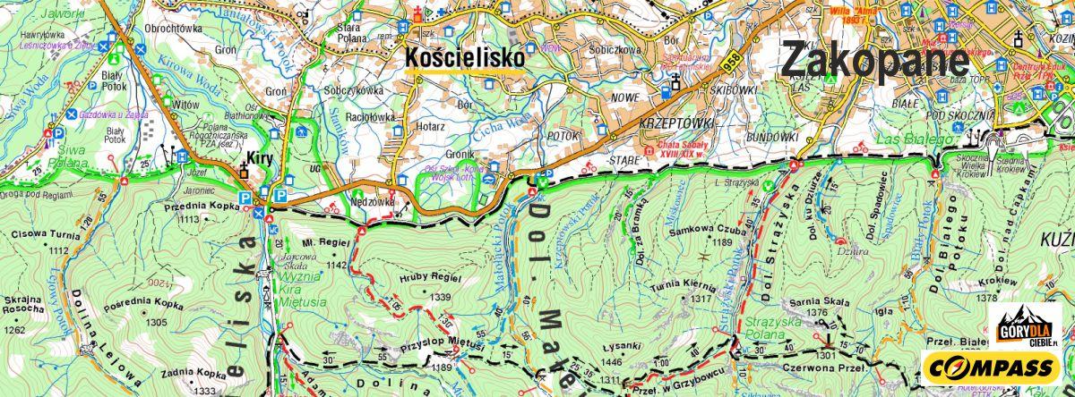 Kiry - mapa dojazdu