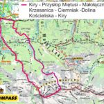 Z Doliny Miętusiej na Czerwone Wierchy - mapa