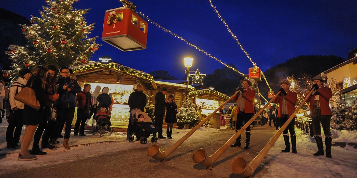 Boże Narodzenie wSelva Val Gardena