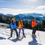Wyprawa na rakietach śnieżnych w rejonie Val Gardena