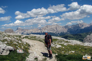 Via Ferraty w Dolomitach