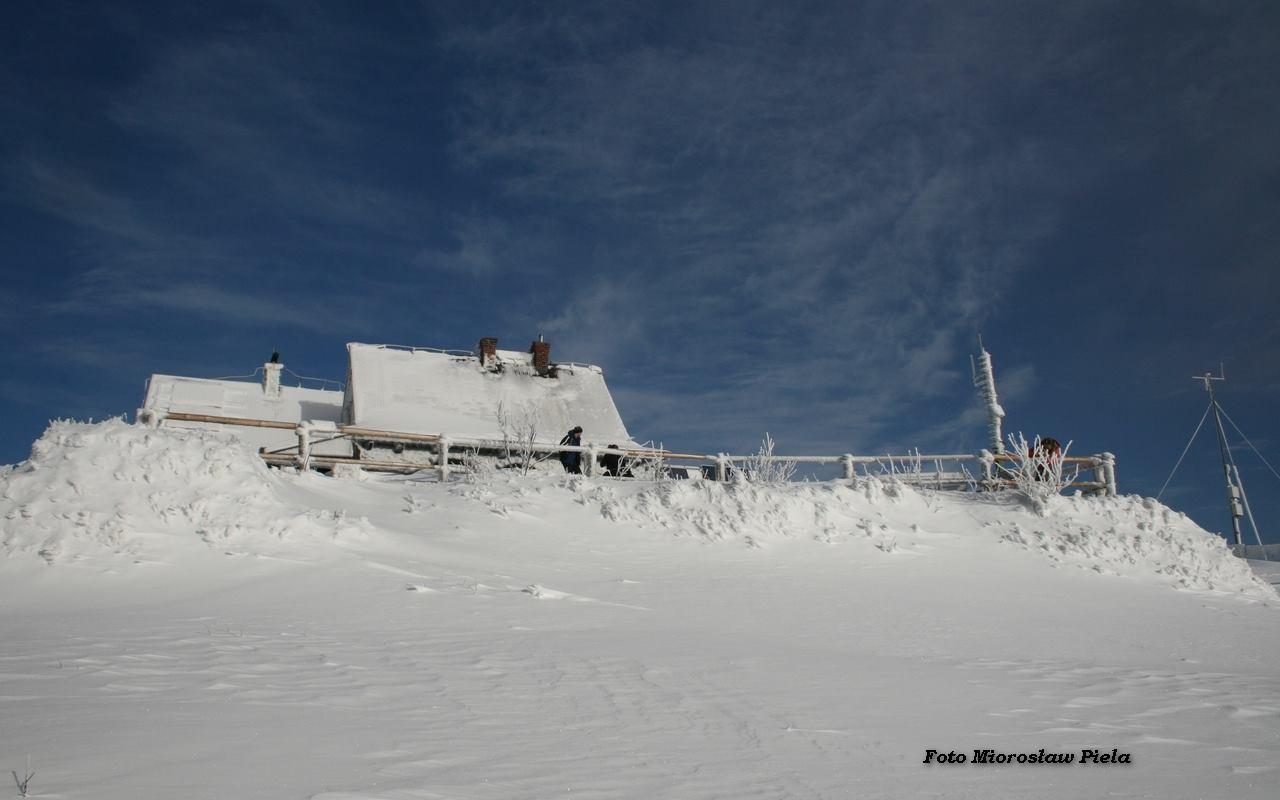 Wetlina zimą, zdj. Mirosław Piela