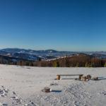 Widoki ze szczytu Jałowca (1111 m)