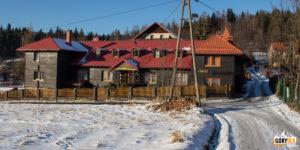 Budynek Klasztoru Sióstr Zmartwychwstanek w Siwcówce