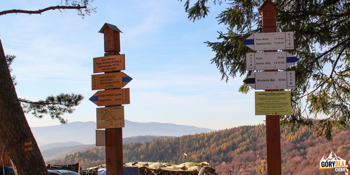 Bacówka PTTK nad Wierchomlą (887 m)