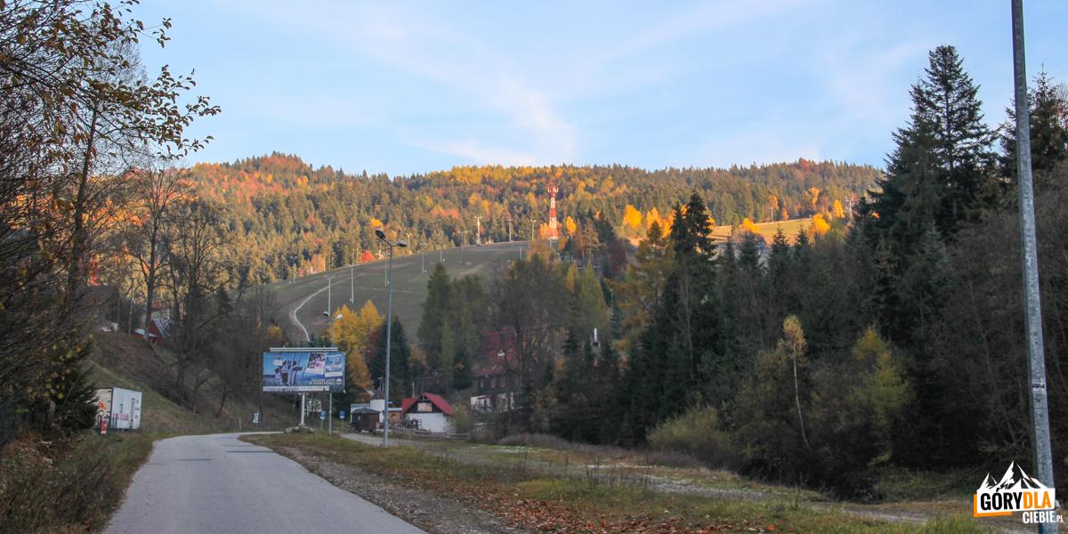 Stoki narciarskie w Wierchomli Małej