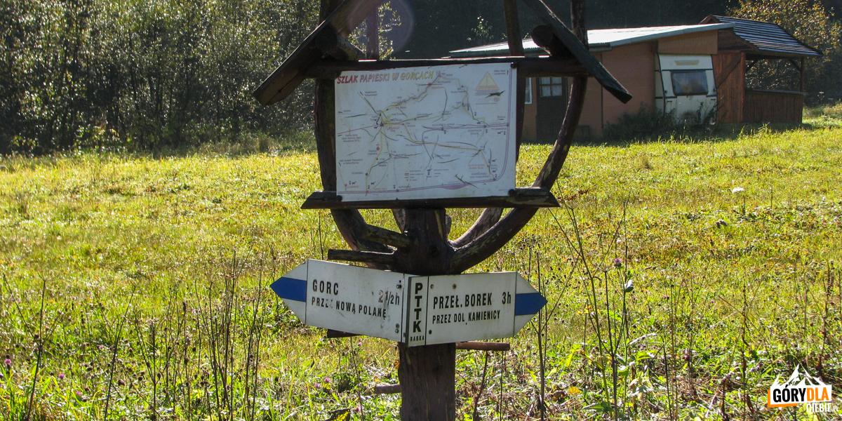 Niebieski szlak naGorc (1228 m) - Rzeki