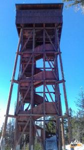 Wieża widokowa na szczycie Gorca (1228 m)
