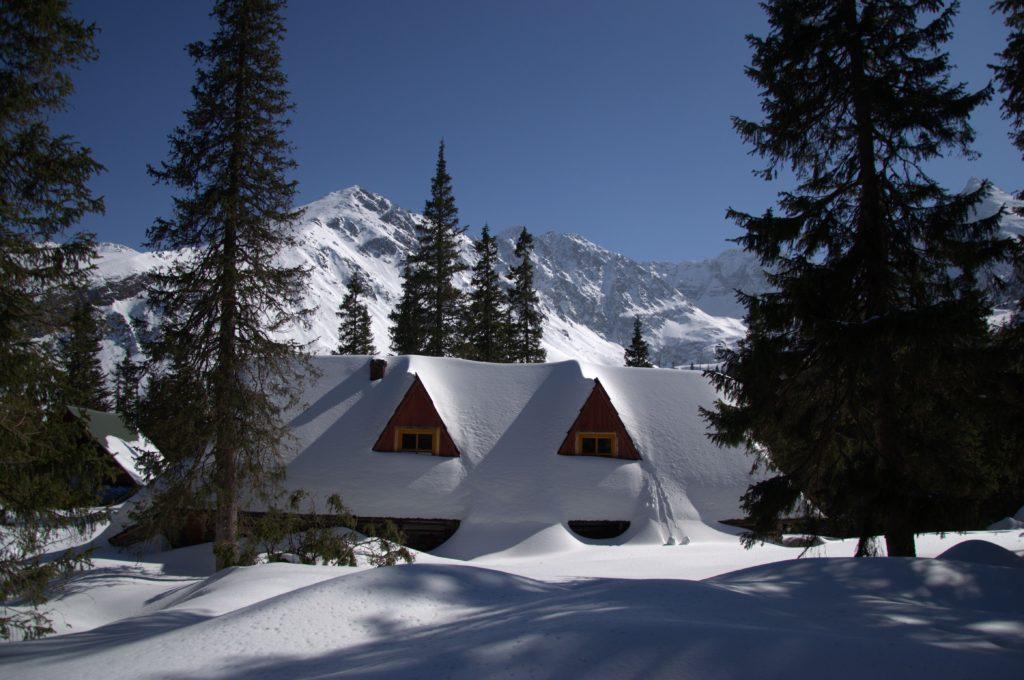 Zimowa Dolina Gąsienicowa