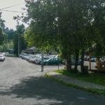 Parking przy Zajeździe Smrek w Korbielowie