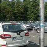 Parking w Korbielowie koło Zajazdu Smrek