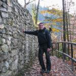 Zamek Pieniński - kamienne mury