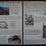 Zamek Pieniński - tablice informacyjne
