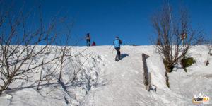 Podejście ze schroniska na szczyt Wielkiej Raczy (1236 m)