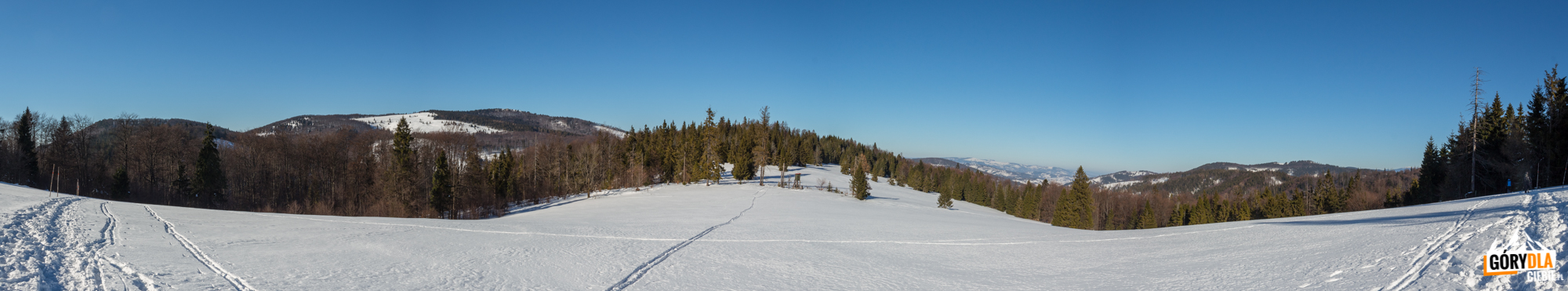 Panorama zHali Śrubita