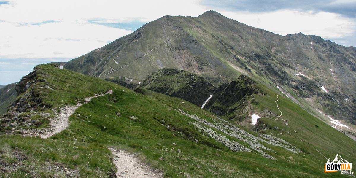 Droga na szczyt Błyszcza (2158 m) i Bystrej (2248 m)