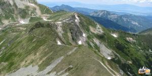 Droga na Błyszcz (2158 m) i Bystrą (2248 m) od Siwej Przełęczy