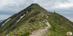 Grań pomiedzy Błyszczem (2158 m) a Bystrą (2248 m)