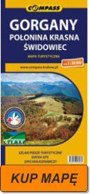 Gorgany mapa 2013 kup