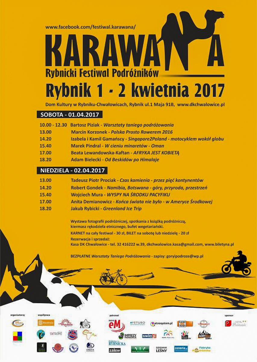 RFP KARAWANA 2017 - plakat