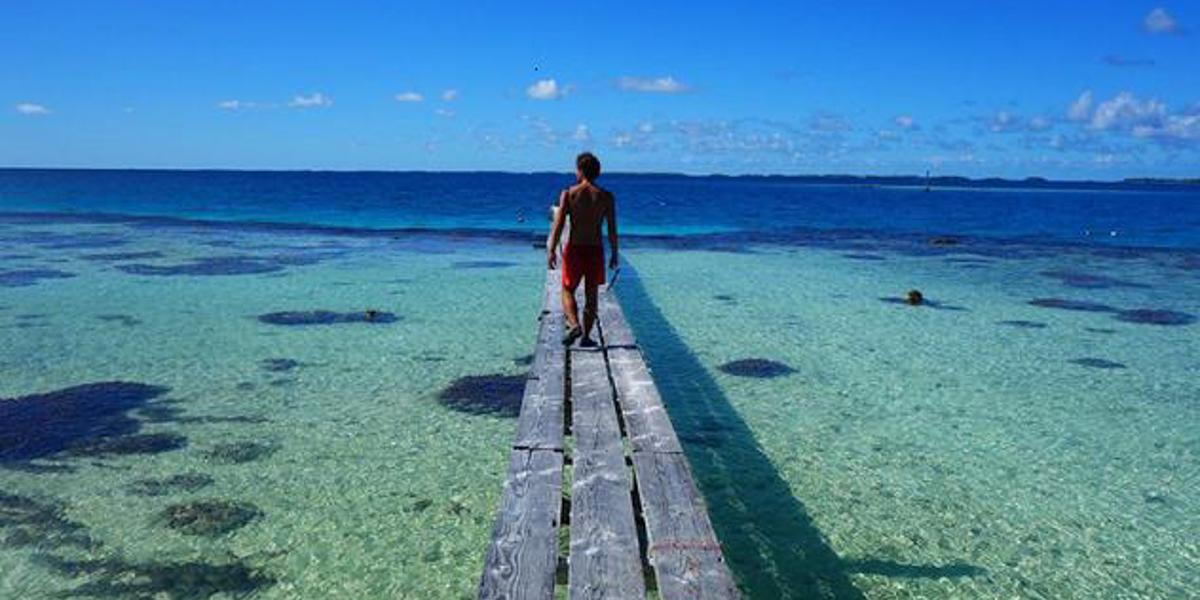 Wyspy naśrodku Pacyfiku - fot.Wojciech Mura