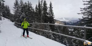 Stara nartostrada wzdłuż Doliny Olczyskiej - zdj. M.J.P.