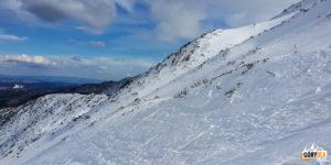 Zbocza Suchego Wierchu Kondrackiego poniżej Przełęczy pod Kopą Kondracką