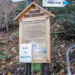 Wejście (płatne) na szczyt Sokolicy (747 m)