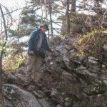Sokola Perć w rejonie Ociemnego Wierchu (740 m)