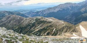 Zejście ze Starorobociańskiego Wierchu na Siwą Przełęcz