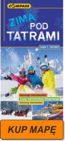 Zimą Pod Tatrami mapa 2016 kup
