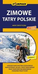 Zimowe Tatry Polskie mapa 2014