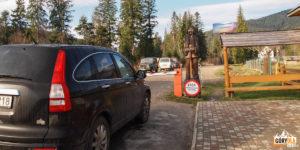 Wjazd do parku narodowego - Zawojela