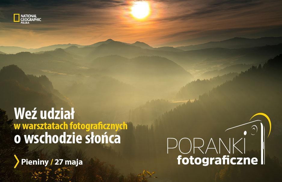 NG warsztaty fotograficzne - Pieniny 2017
