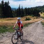Turbacz iStare Wierchy rowerem zObidowej