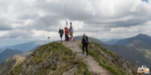 Na szczycie Moldoveanu, 2544 m