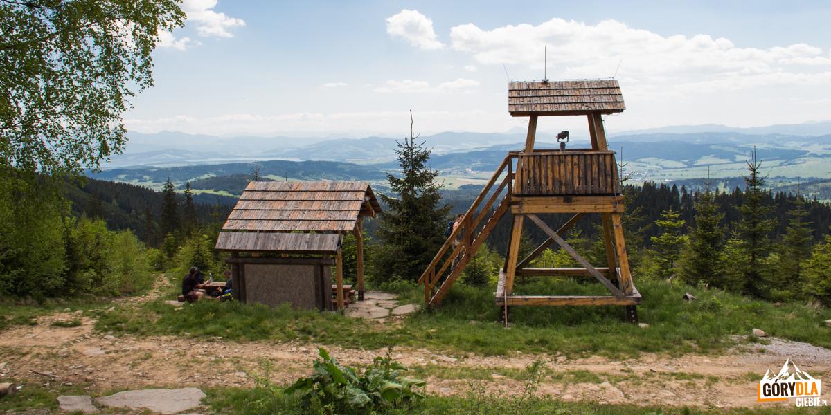 Wieża widokowa - Stawiny (słow. Šťaviny)