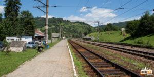 Dworzec kolejowy w Wołosance