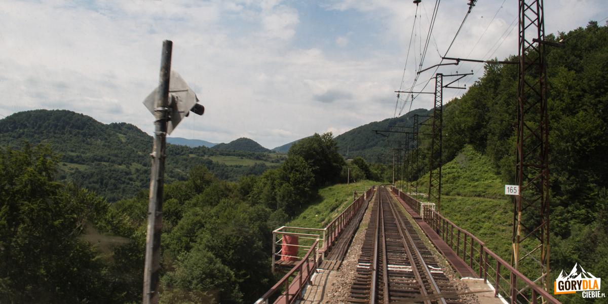 Na trasie przejazdu Sianki-Wołosanka