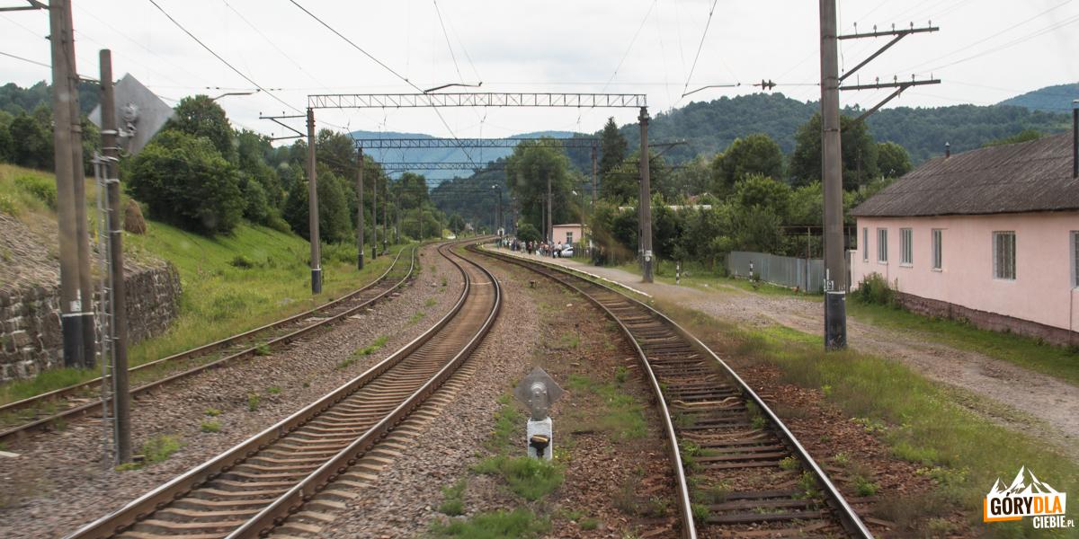 Stacja kolejowa wWołosance