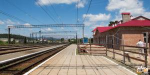 Dworzec kolejowy w Siankach