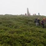 Zejście ze szczytu Pikuja