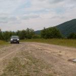 Przełęcz pomiedzy Użokiem a wsią Roztoka, z której możemy wejść na Starostynę (1229 m) w grani Pikuja