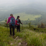 Zejście ze szczytu Pikuja w kierunku Biłasowicy