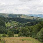Panorama na Biłosawicę z trasy na Pikuj