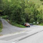Jeden z parkingów przy drodze nr 27 z Reichenau