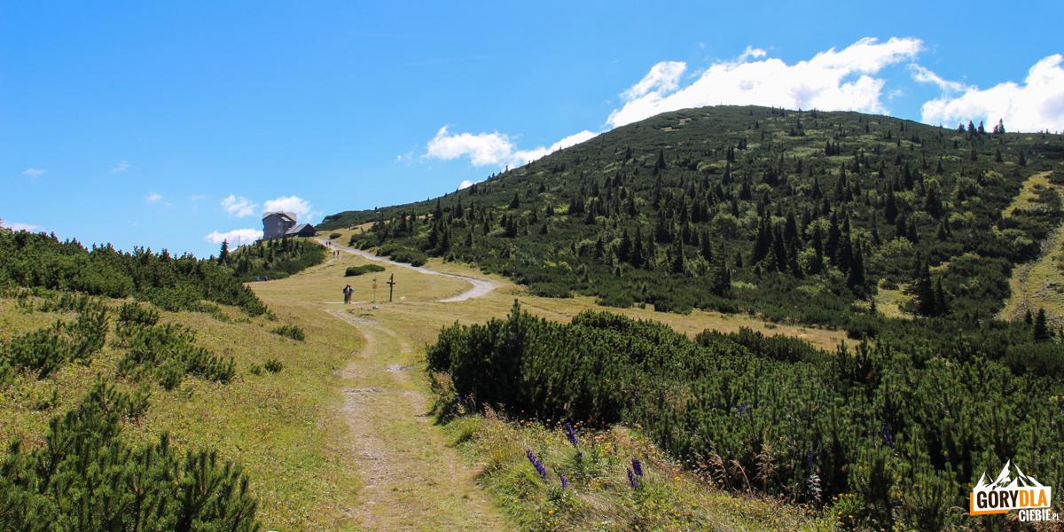 Droga do schroniska Ottohaus (1644 m)