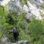 Podejście do ferraty Wachthüttlkamm (A-B)