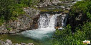 """Potok """"Cicha Woda"""" (Tichý potok) w Cichej Dolinie"""